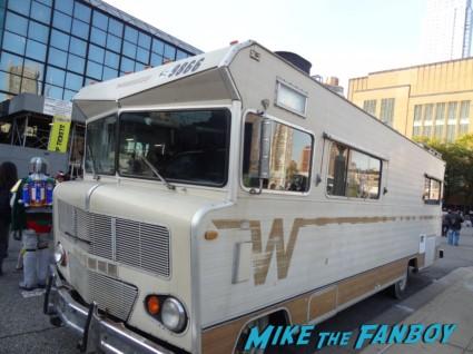 the rv walking dead rare prop vehicle at new york comic con nycc 2012 rare promo