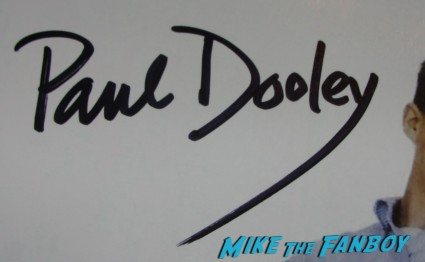 paul dooley signed autograph sixteen candles star signature rare mini movie poster promo