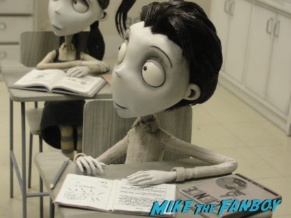 the art of frankenweenie exhibit at walt disneys california adventure prop costume maquette artwork display