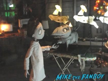 the art of frankenweenie exhibit at walt disneys california adventure prop costume maquette artwork display