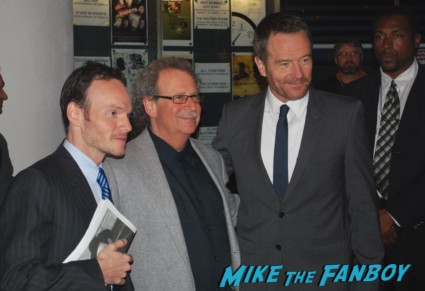 Bryan Cranston signing autographs for fans at the mill valley film festival in san francisco ca rare breaking bad rock of ages