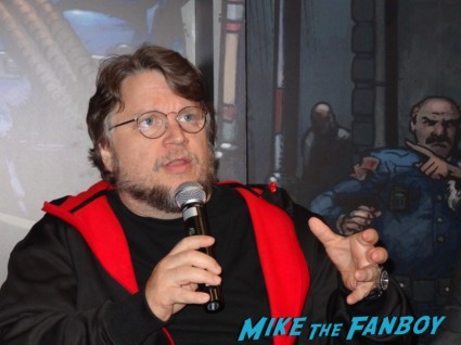 Guillermo del Toro, Grant Morrison, Travis Beacham and was hosted by Chris Hardwick (of Nerdist fame) at the legendary comics panel