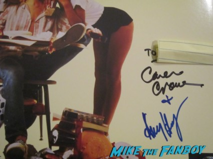 amy heckerling signed autograph fast times at ridgemont high laserdisc laser disc movie poster promo hot sexy movie