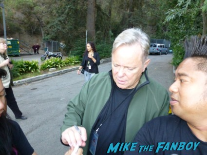 bernard sumner signing autographs for fans from new order rare promo los angeles greek theater signed regret 12: LP