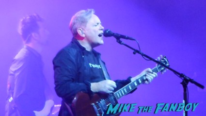 bernard sumner new order los angeles greek theater live in concert rare Gillian Gilbert and Stephen Morris concert photo