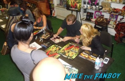 hot sexy the victim signing The Victim dvd autograph signing at dark delicacies Writer/director/star Michael Biehn; Co-star/producer Jennifer Blanc-Biehn; Co-stars Danielle Harris (schedule permitting), Tanya Newbould and Alyssa Lobit; Soundtrack songwriter Randy Chance…