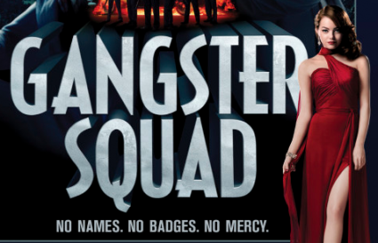 gangster squad movie poster teaser ryan gosling emma stone sexy sean penn josh brolin nick nolte