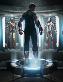 Iron man 3 teaser movie poster one sheet hot rare robert downey jr. iron man tony stark