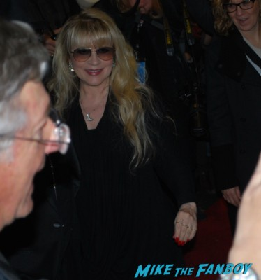 Stevie Nicks arriving at the mill valley film festival and dissing fans waiting for autographs hot fleetwood mac singer rare