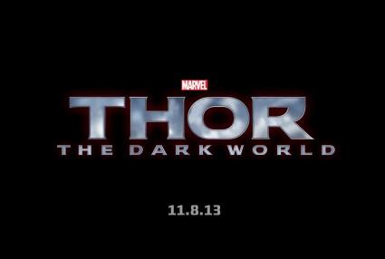 Thor: The Dark World logo rare promo chris hemsworth hot thor 2 logo thor the dark world rare promo