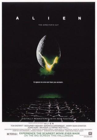 alien rare promo movie poster 1978 original release hot sexy movie poster sigourney weaver