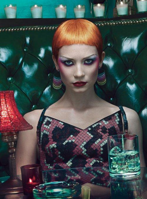 Mia Wasikowska w magazine november 2012 magazine cover hot sexy photo shoot rare promo sex prom