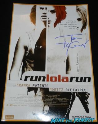 Tom Tykwer signed autograph run lola run promo mini movie poster promo cloud atlas movie premiere