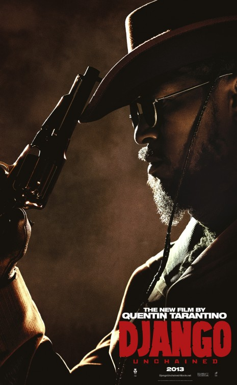 jamie foxx django unchained individual promo movie poster rare character teaser poster promo
