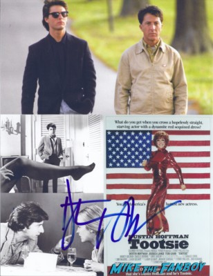 dustin hoffman signed autograph photo rare promo tootsie rain man Dustin hoffman signing autographs for fans at the mill valley film festival in san francisco ca rare breaking bad rock of ages