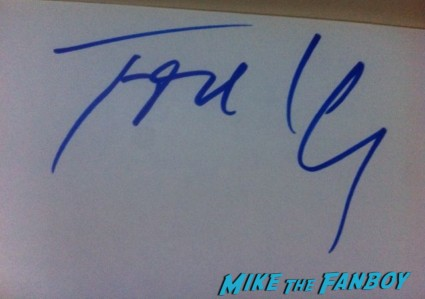 Tom Hanks signed autograph signature index card photo rare promo hot sexy object of my affection star rare