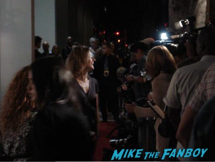 jodie foster on the red carpet at the pheobe in wonderland movie premiere in los angeles