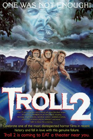 troll 2 Troll II rare movie poster promo one sheet cult classic awesomeness