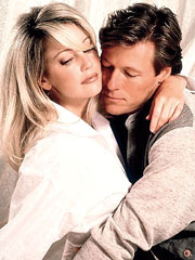 jack wagner and heather locklear press promo photo shoot melrose place 1990 hot sexy advertising firm rare promo