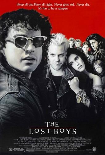 lost boys rare promo one sheet movie poster promo hot sexy jamie gertz keifer sutherland