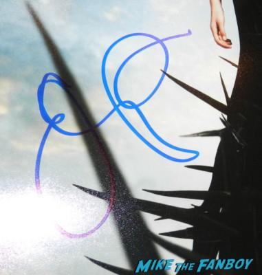 emily vancamp signed autograph signature revenge promo mini poster television rare promo hot