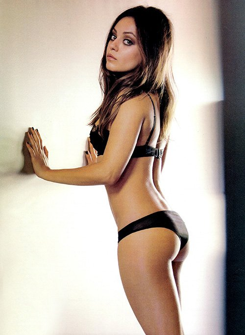 Mila Kunis topless nude naked sexiest woman alive magazine cover photo shoot esquire magazine november 2012 cover hot sexy rare promo friends with benefits rare family guy