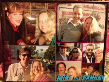 andrew mccarthy signed pinky's photo collage at the aero theater rare promo