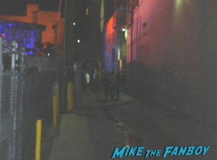 Ben Affleck dissing fans after a talk show taping to promote Argo signed autograph rare promo