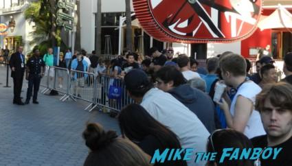 the walking dead season 2 premiere red carpet at universal studios citywalk rare signing autographs hot sexy promo amc