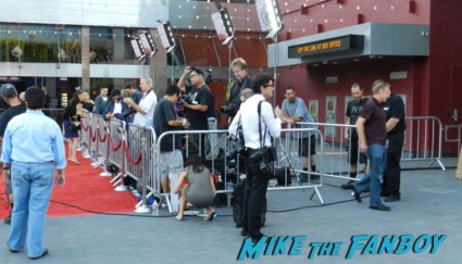 the walking dead season 2 premiere red carpet at universal studios citywalk rare signing autographs hot sexy promo amc