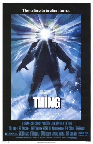 John Carpenter's the thing rare promo one sheet movie poster promo hot kurt russell