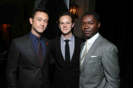 "Joseph Gordon-Levitt, Joseph Cross and David Oyelowo at The World Premiere of DreamWorks Pictures ""Lincoln"" At The AFI FEST 2012 held at Grauman's Chinese Theatre on November 8, 2012 in Hollywood, California. Copyright info: 2012 DreamWorks II Distribution Co., LLC and Twentieth Century Fox Film Corporation. All Rights Reserved.  (Photo by Eric Charbonneau/WireImage) *** Local Caption *** Joseph Gordon-Levitt;Joseph Cross;David Oyelowo The World Premiere Of DreamWorks Pictures ""Lincoln"" At The AFI FEST 2012"