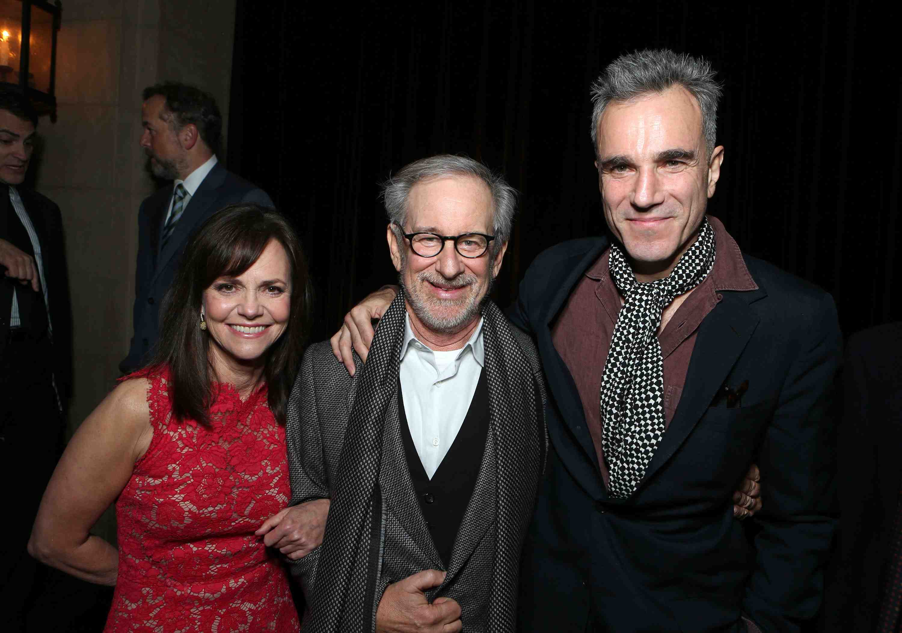 "Sally Field, Director/Producer Steven Spielberg and Daniel Day-Lewis at The World Premiere of DreamWorks Pictures ""Lincoln"" At The AFI FEST 2012 held at Grauman's Chinese Theatre on November 8, 2012 in Hollywood, California. Copyright info: 2012 DreamWorks II Distribution Co., LLC and Twentieth Century Fox Film Corporation. All Rights Reserved.  (Photo by Eric Charbonneau/WireImage) *** Local Caption *** Sally Field;Steven Spielberg;Daniel Day-Lewis The World Premiere Of DreamWorks Pictures ""Lincoln"" At The AFI FEST 2012"
