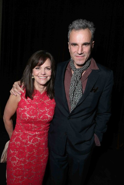 "Sally Field and Daniel Day-Lewis at The World Premiere of DreamWorks Pictures ""Lincoln"" At The AFI FEST 2012 held at Grauman's Chinese Theatre on November 8, 2012 in Hollywood, California. Copyright info: 2012 DreamWorks II Distribution Co., LLC and Twentieth Century Fox Film Corporation. All Rights Reserved.  (Photo by Eric Charbonneau/WireImage) *** Local Caption *** Sally Field;Daniel Day-LewisThe World Premiere Of DreamWorks Pictures ""Lincoln"" At The AFI FEST 2012"