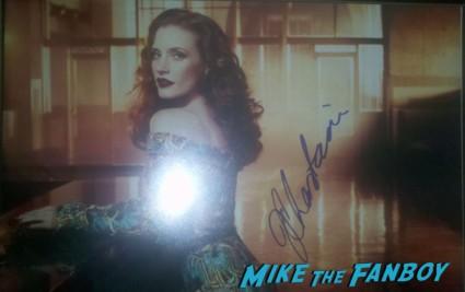 Jessica Chastain signed autograph hot sexy photo shoot rare promo zero dark thirty actress rare