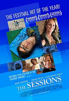 the sessions movie poster one sheet rare promo poster helen hunt john hawkes