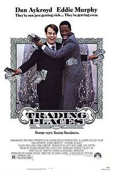 trading places original one sheet movie poster rare eddie murphy dan aykroyd rare teaser poster