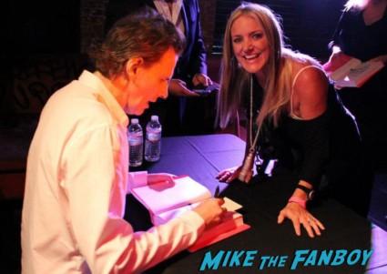 john taylor book signing autograph duran duran fan photo book signing rare promo