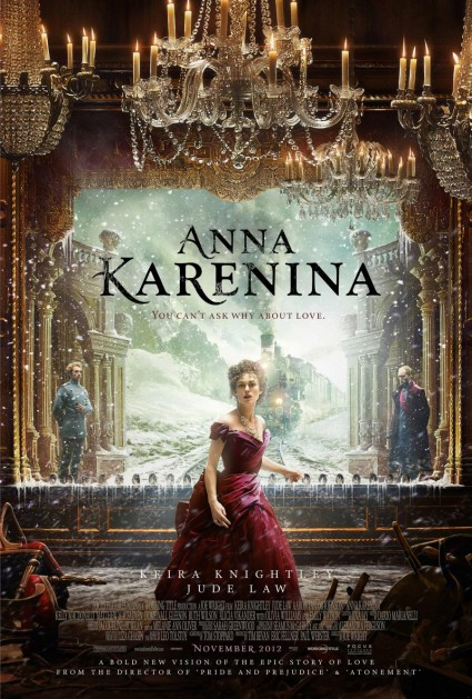 Anna-Karenina Movie Poster Rare Keira knightly jude law rare promo one sheet teaser poster hot sexy promo