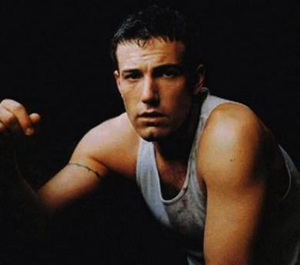 Ben affleck hot sexy shirtless naked photo shoot rare promo 1990's good will hunting argo gone baby gone  muscle flex tank top muscle shirt rare
