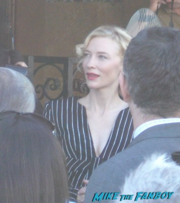Sexy Cate Blanchett arriving for her walk of fame star ceremony in hollywood looking hot lord of the rings indiana jones the curious case of benjamin button