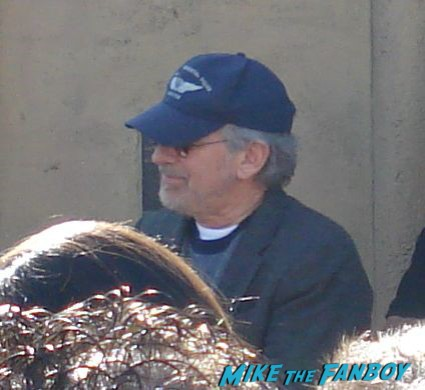 Steven Spielberg arriving to cate blanchett's walk of fame star ceremony  on hollywood blvd.