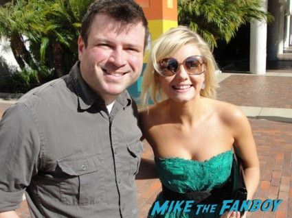 Elisha Cuthbert  fan photo signing autographs for fans at the happy endings party in los angeles hot sexy 24 star