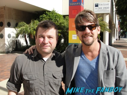 Zachary Knighton fan photo signing autographs for fans at the happy endings q and a in los angeles