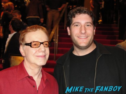 danny elfman and mike the fanboy have a nice photo flop at the premiere of silver linings playbook