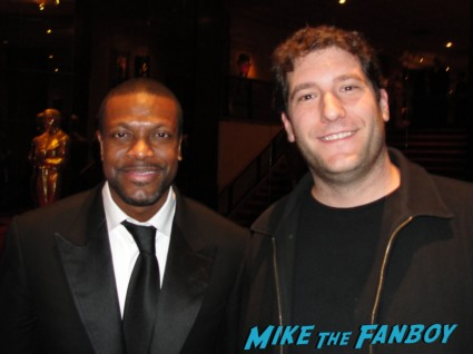 Chris Tucker fan photo with mike the fanboy rare promo silver linings playbook movie premiere fifth element star