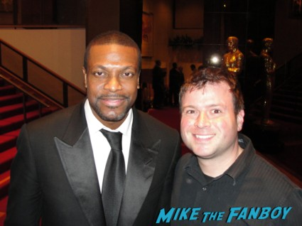 Chris Tucker fan photo with billy beer from mike the fanboy rare promo silver linings playbook movie premiere fifth element star