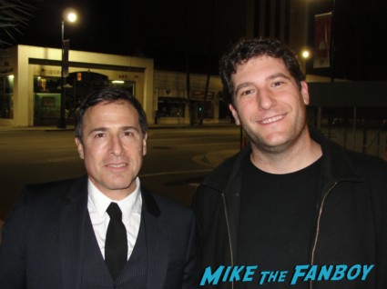 David O. Russell fan photo with mike the fanboy rare promo silver linings playbook movie premiere three kings flirting with disaster director