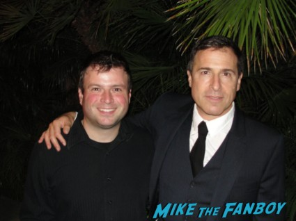David O. Russell fan photo with billy beer form mike the fanboy rare promo silver linings playbook movie premiere three kings flirting with disaster director