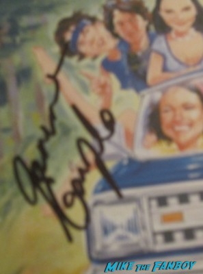 Janeane Garofalo signed autograph signature wet hot american summer dvd cover movie poster promo rare